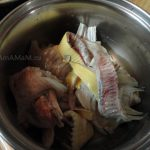 Бульон из камбалы (обрезков рыбы)