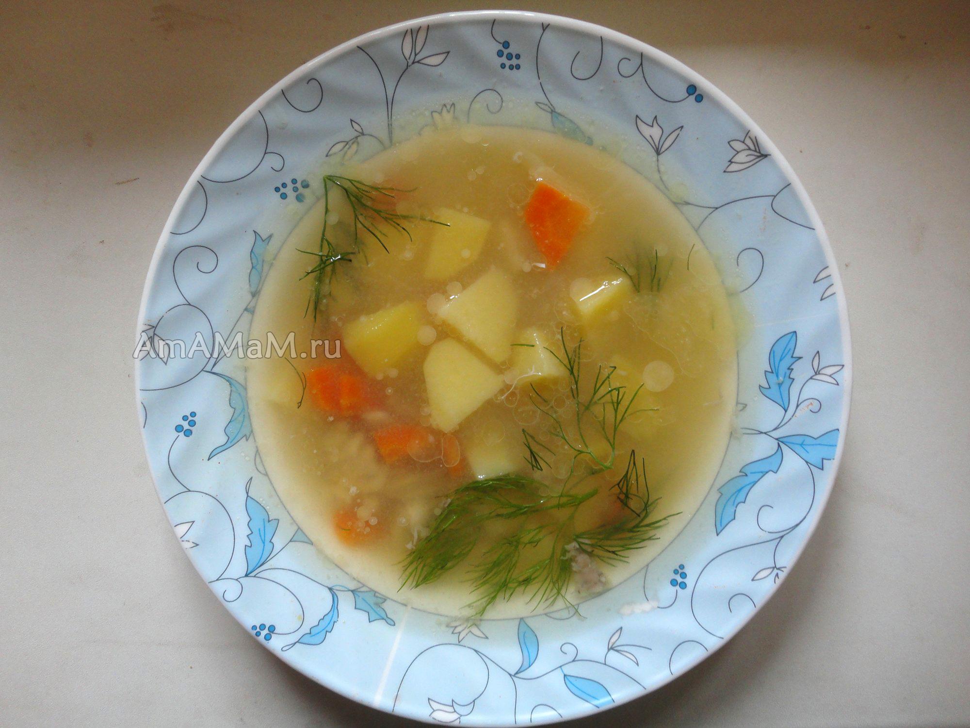 Рыбные супы для детей от года рецепты