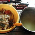 Рыбные обрезки и рыбный бульон - фото и рецепт супа из камбалы