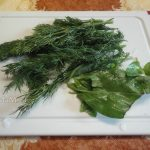 Зелень для фрикаделек - укроп с базиликом