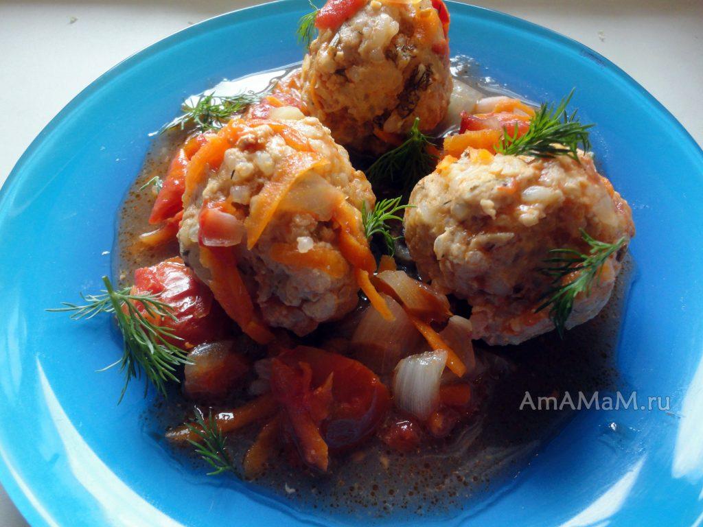 Индейка - рецепты блюд из фарша