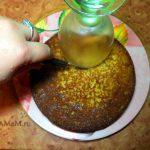Как разрезать бисквит на части для торта Петух - фото и пошаговая инструкция
