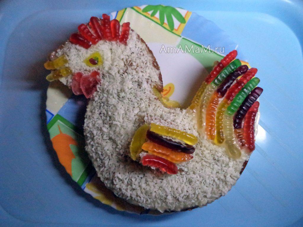 Готовим петуха своими руками - рецепт торта