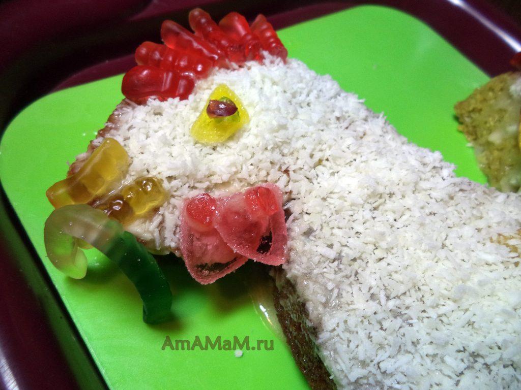 Торт Петух - рецепт приготовления с пошаговыми фото