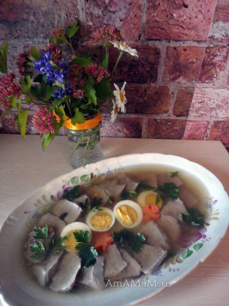 Рецепты заливного - вкусно, просто и красиво