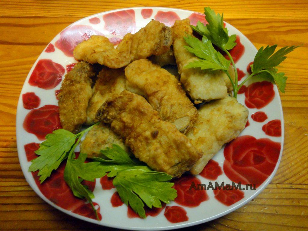 Вкусная жареная щука - рецепт приготовления