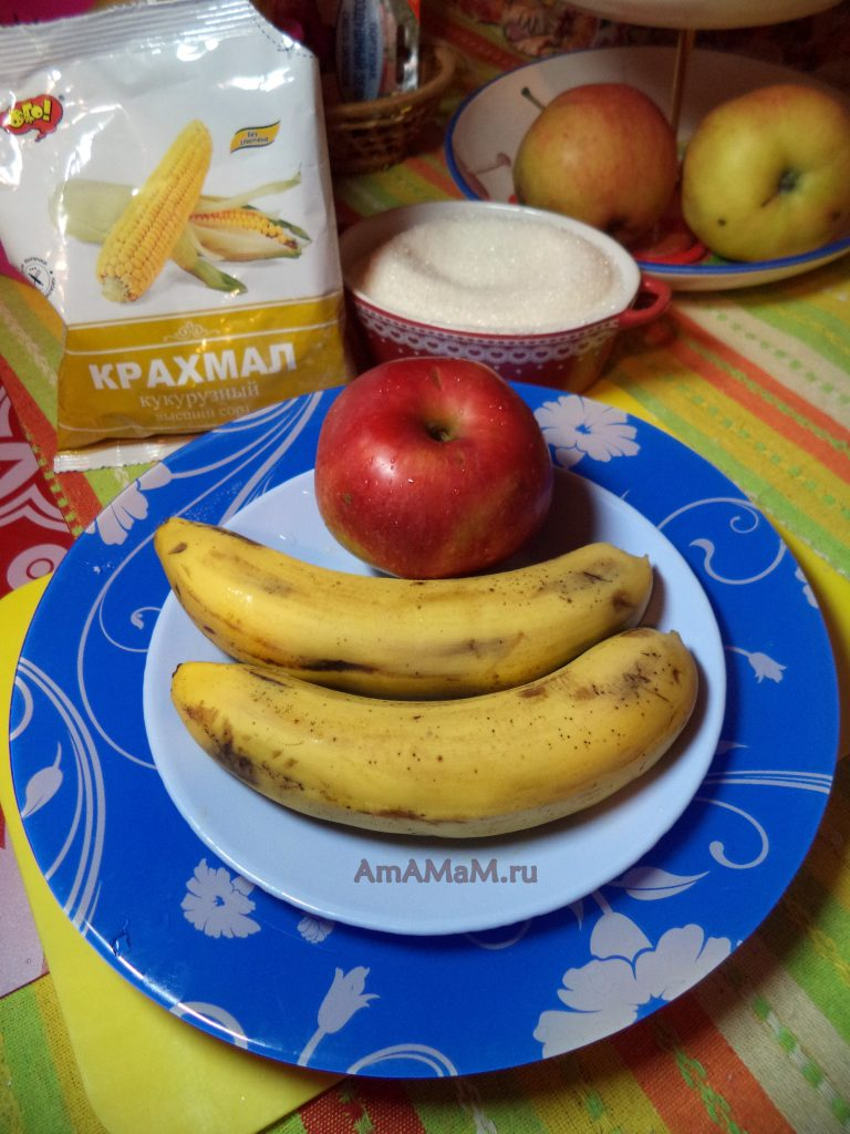 Банановый десерт на скорую руку в домашних условиях - рецепт
