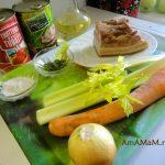 Как потушить рагу с консервированной фасолью, грудинкой и овощами