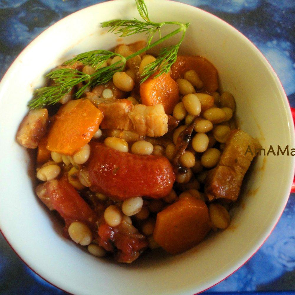 Блюда из фасоли пошаговый рецепт