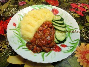 Вешенки в томате - рецепт вкусного соуса