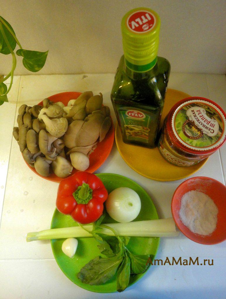 Состав соуса из вешенок и рецепт приготовления