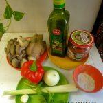 Грибной соус-подливка с вешенками