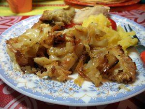 Рецепт капусты, жареной без лука с базиликом