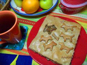 Как сделать пирог с собачками - фото и рецепт