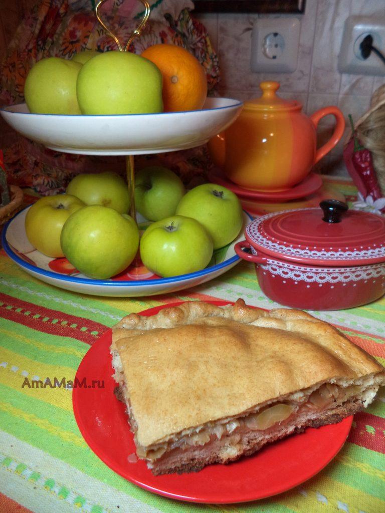 Что испечь к чаю - домашний пирог с капустой