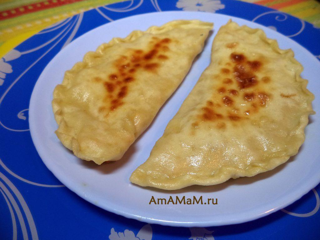 Кутабы с бананами и апельсинами - пошаговый рецепт приготовления и фото