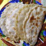 Домашние кутабы с картошкой - рецепт