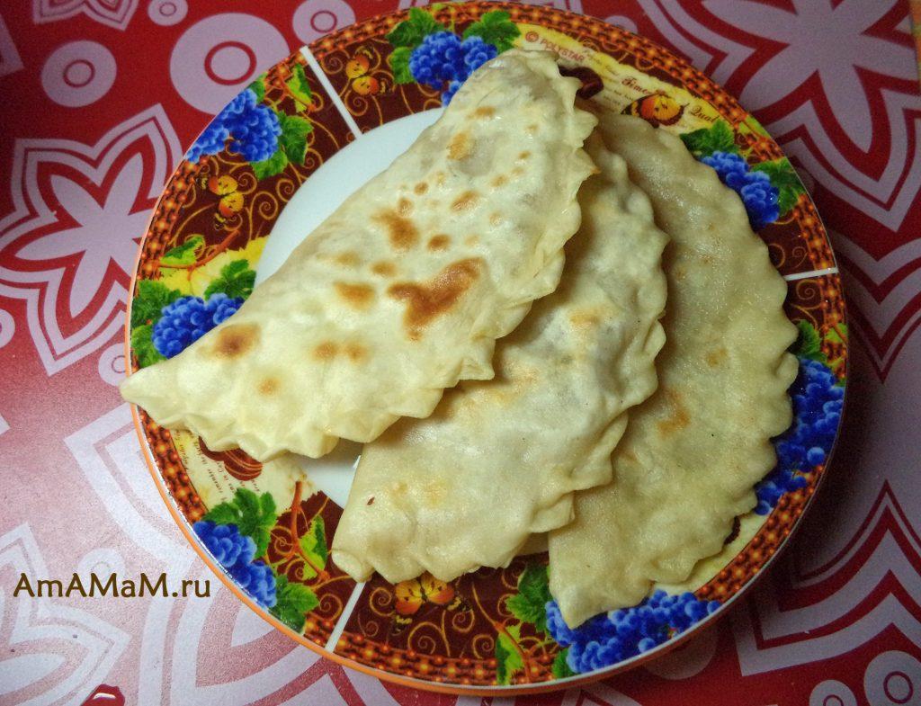 Изготовление кутабов - рецепт теста и пирожков