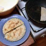 Выпечка азербайджанских кутабов - рецепт с фото