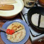 Процесс приготовления кутабов - рецепт