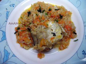 Тушеный минтай с морковью и будгуром - вкусный рецепт на скорую руку