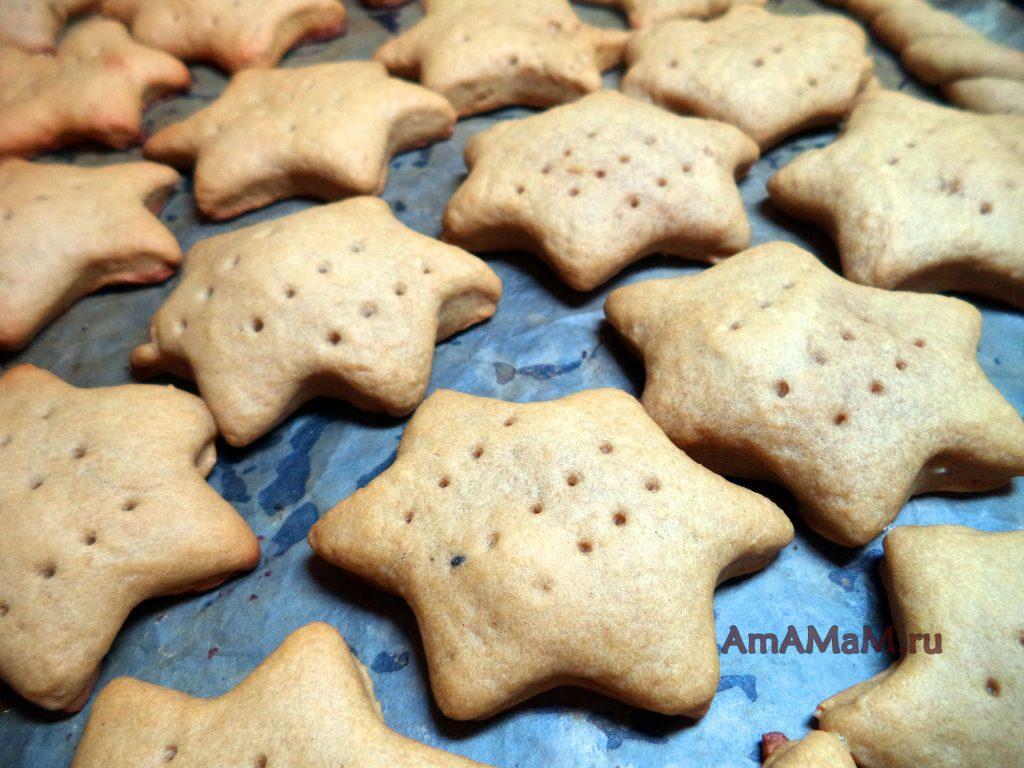 Приготовление медового печенья - простой рецепт