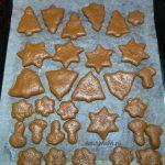 Фото печенья на противне до выпечки