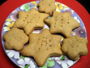 Медовое песочное печенье - простой рецепт и фото