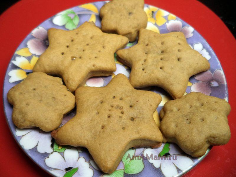 Легкое песочное печенье рецепт фото