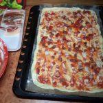 Грудинка - рецепт пиццы