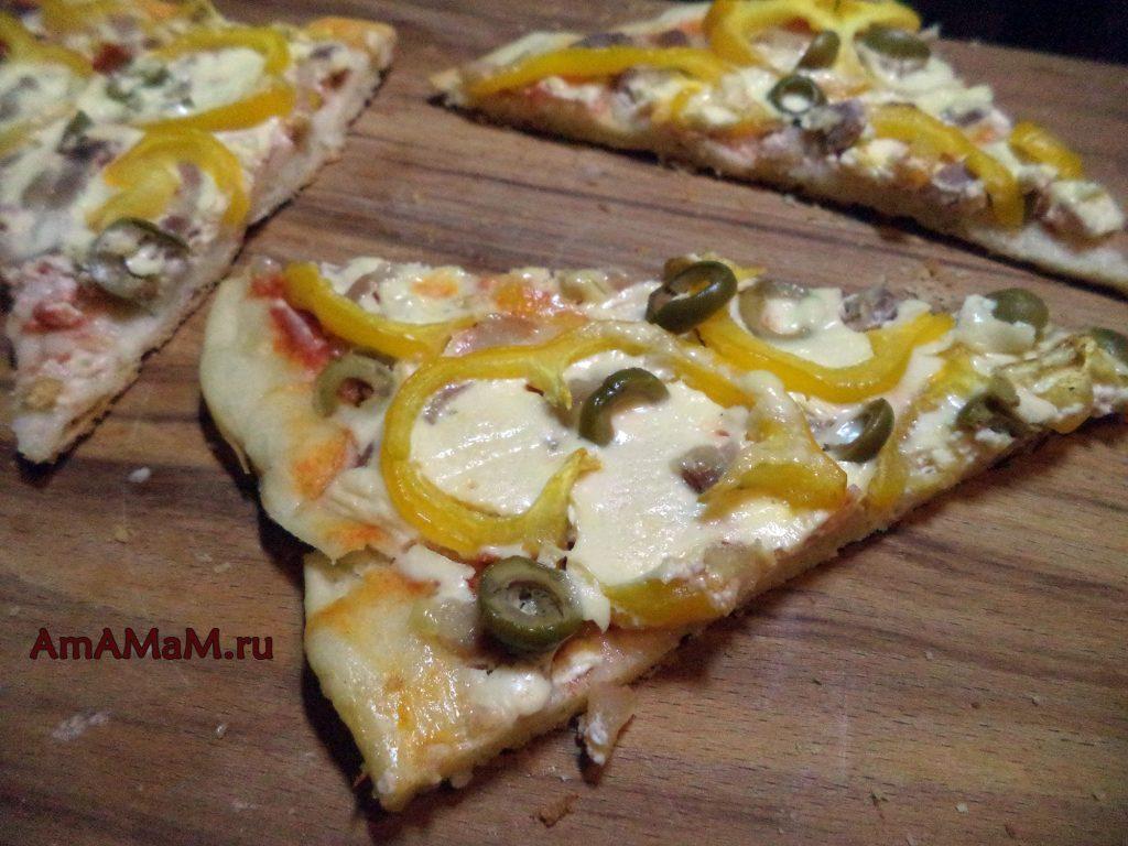 Рецепты пиццы с грудинкой - домашний способ приготовления