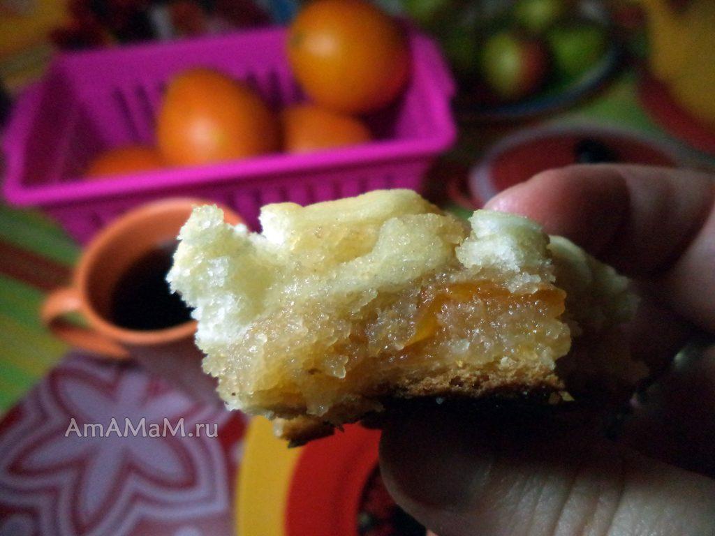 Постное тесто и постная начинка - печем пироги