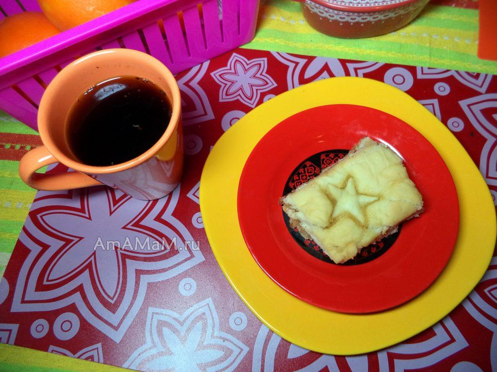 Постное тесто - пироги с вареньем