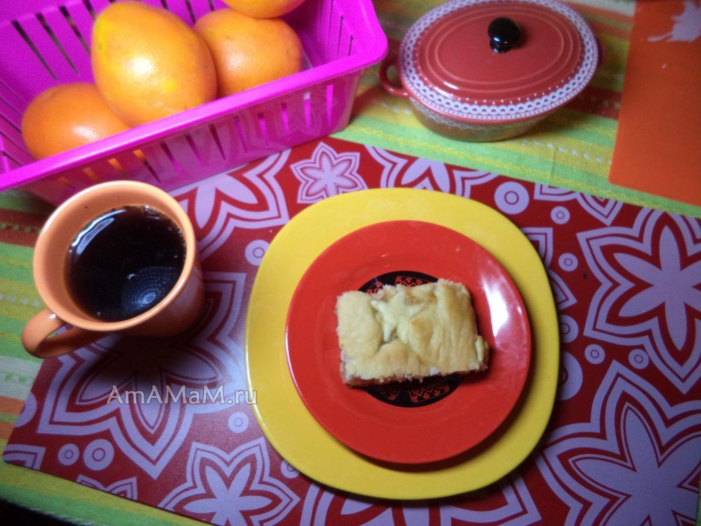 Домашний постный пирог своими руками - рецепт