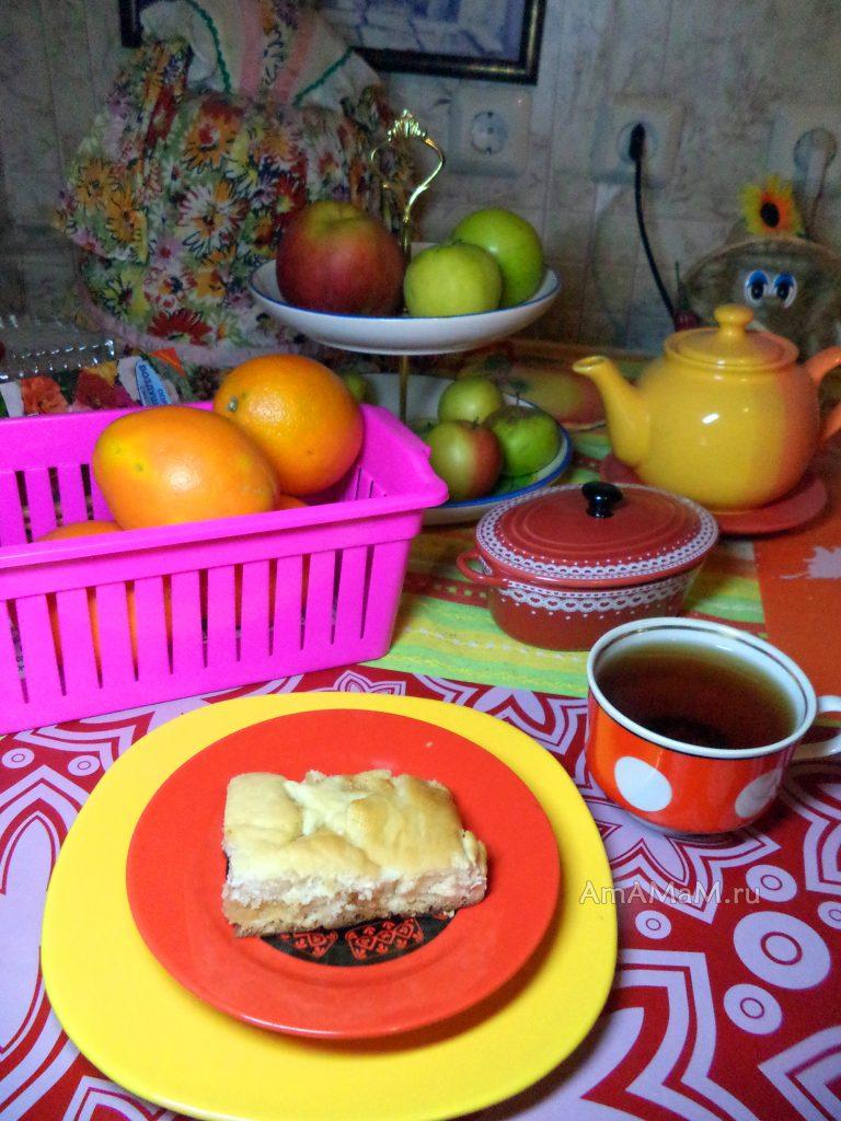 Почтый пирог - рецепт пирготовления