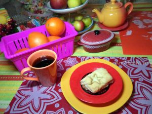 Пирог с вареньем на дрожжах - рецепт с фото