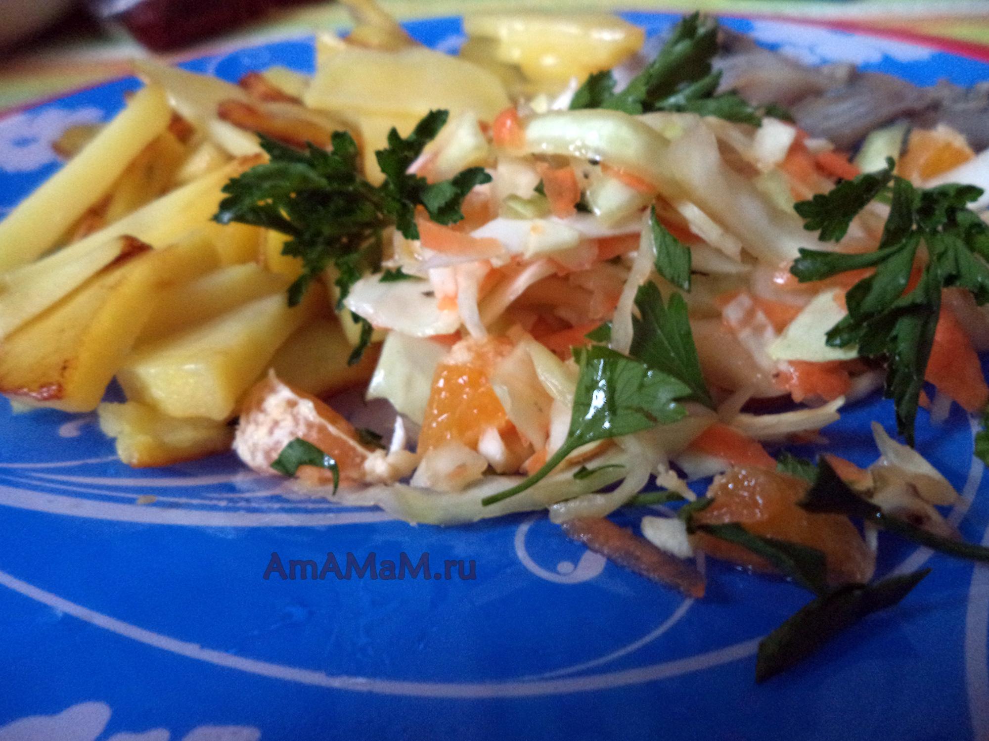 рецепты салатов из свежей фасоли