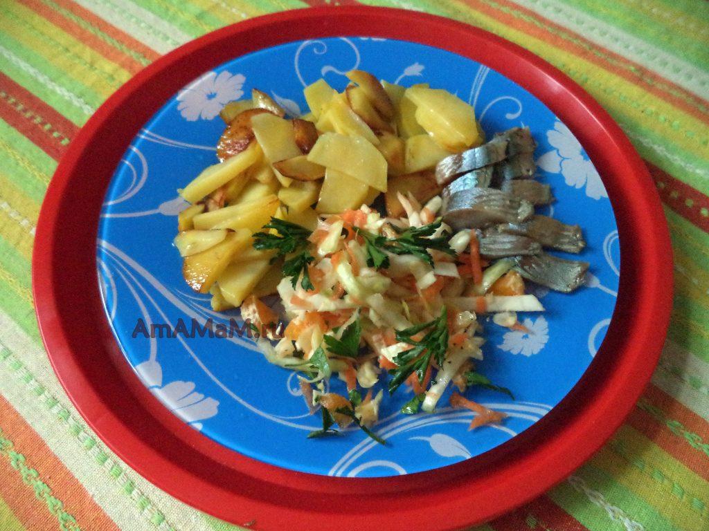 Что приготовить из капусты - салат с мандаринами