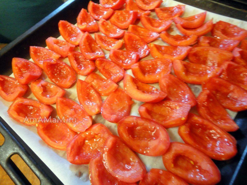 Сушка и вяление помидоров