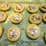 Баранки с фаршем - пошаговые фото и рецепт