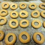 Приготовление баранок с фаршем в духовке- рецепт и фото