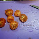 Баранки с фаршем и помидором опд сыром