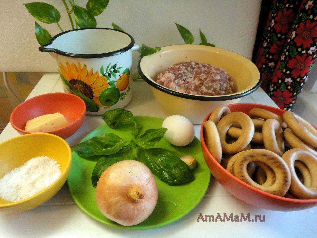 Состав рецепт и приготовления баранок с фаршем
