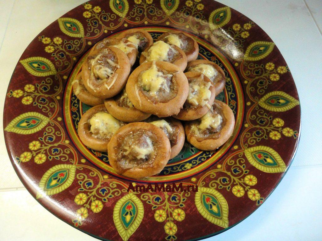 Фаршированные баранки - рецепт и пошаговые фото приготовления