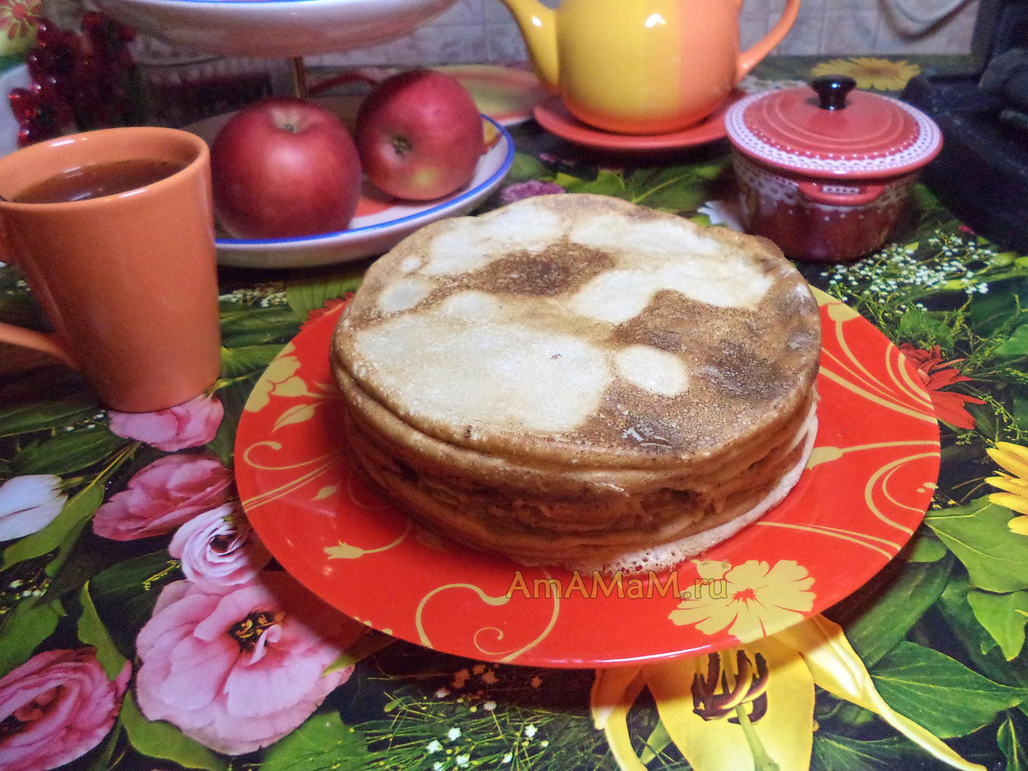 рецепт блинов на кефире толстые на дрожжах рецепт