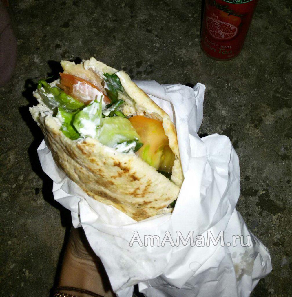 Гирос - греческая закуса