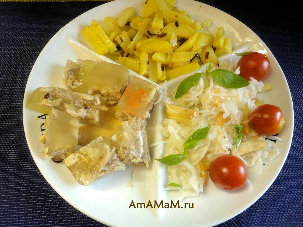Дешевый и вкусный ужин для семьи - рецепт холодца