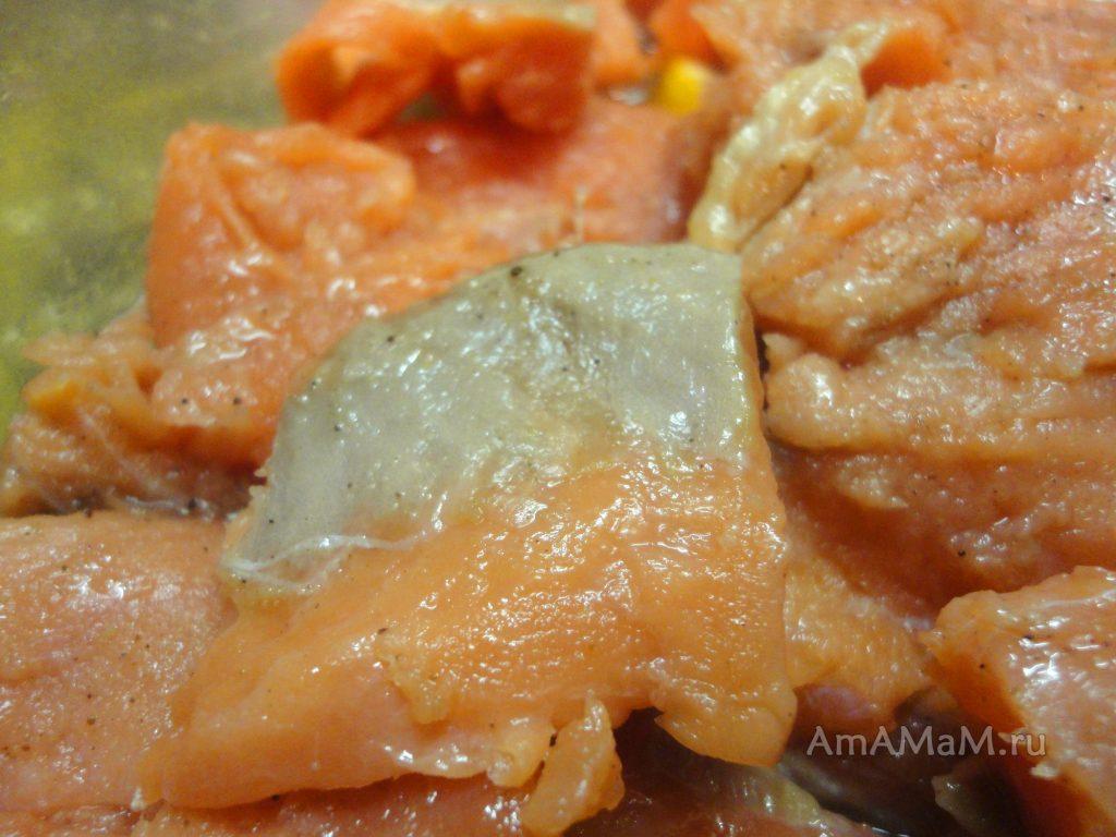 Домашняя красная рыба малосольная - рецепт