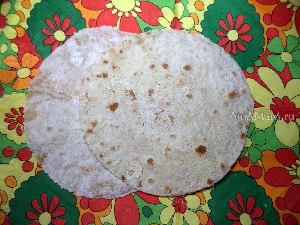 Лаваш домашний - рецепт с пошаговыми фото