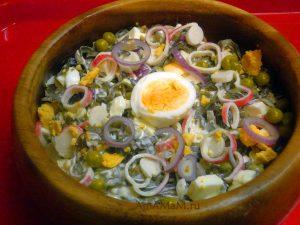 Капуста морская - рецепт салатов